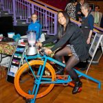 The Fruit Smoothie bike