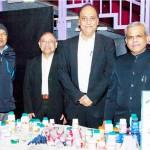 Health mela stall holders