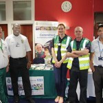 Representatives of the NW Ambulance Service