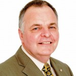 Kevin Walsh, District Governor for Rotary International in Cumbria and Lancashire