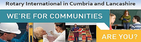 Rotary International in Cumbria and Lancashire