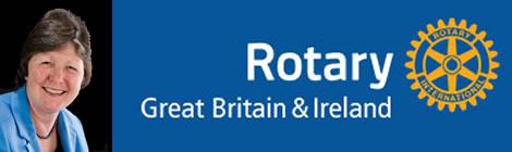 Nan McCreadie, President of Rotary, Great Britain & Ireland