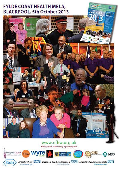 Back cover of the 2013 Fylde Coast Hela Mela report