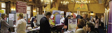 Scene from the 2013 Fylde Coast Health Mela