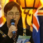 Cllr Julia Anderson, Deputy Mayor, Wyre Council