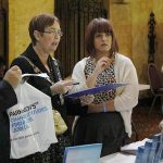 Cllr Anderson at the conference
