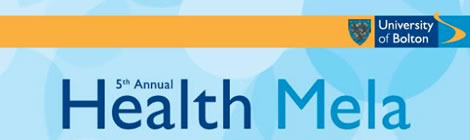 Poster for the 2014 Bolton Health Mela