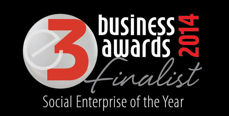 E3 Business Awards finalist - social enterprise of the year