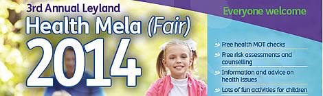 Leyland 2014 Health Mela