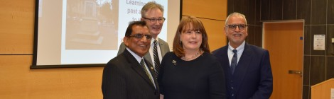 WENDY MEREDITH DELIVERS LECTURE