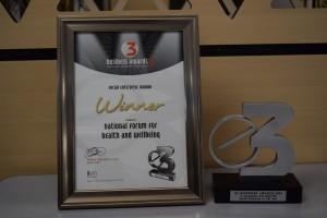 E3 Business Award winner