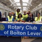 Rotarians at Bolton Health Mela