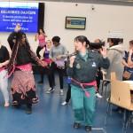 Everyone joins in Belrobics dancing at the Mela