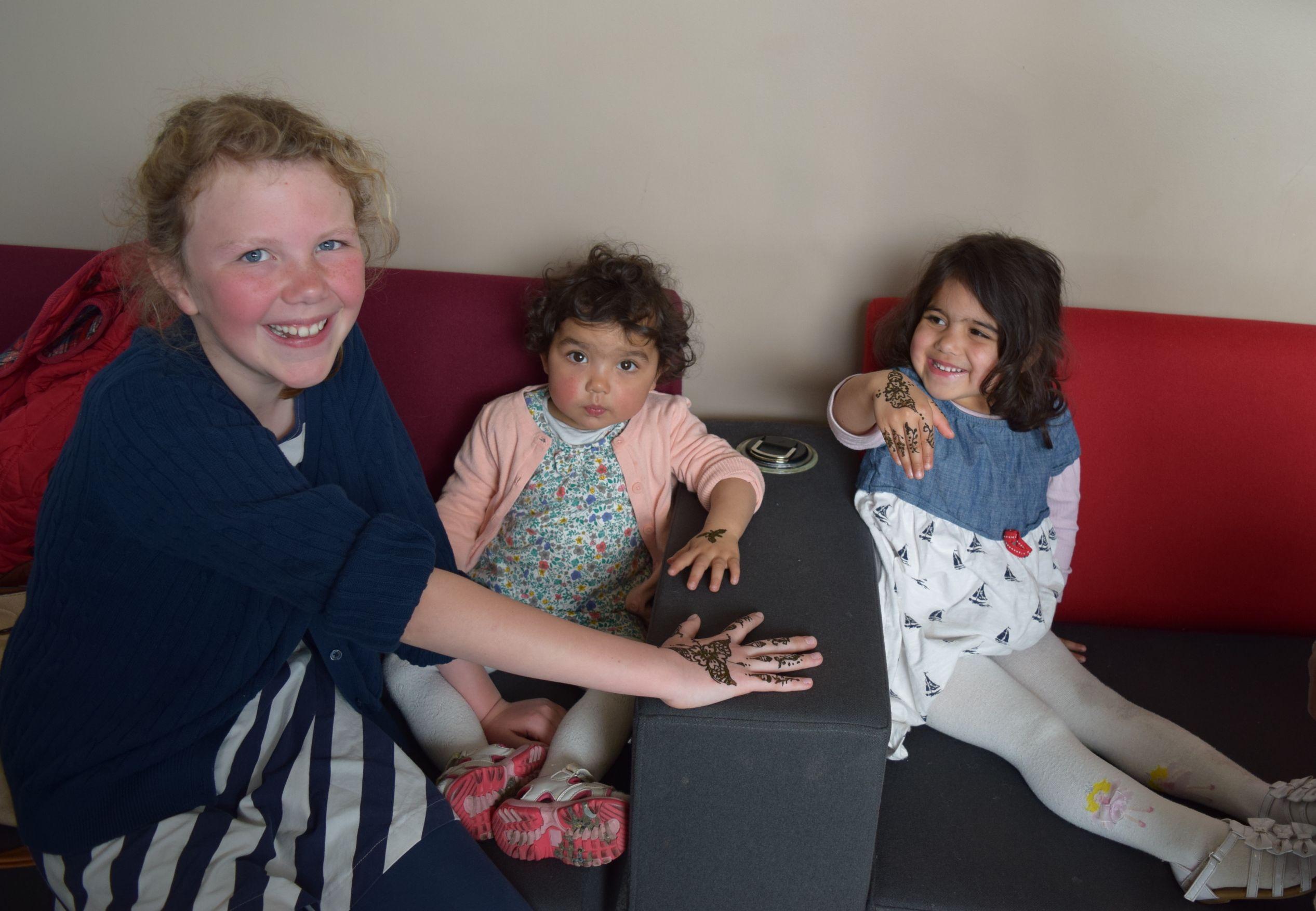 Children enjoying