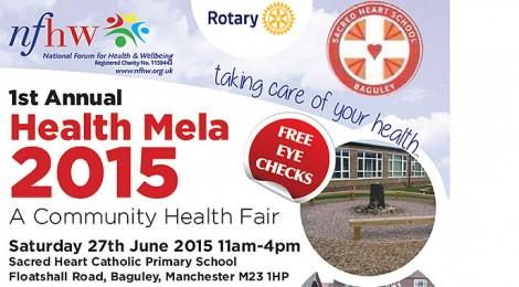 2015 Manchester Health Mela