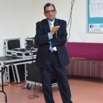 Professor Gupta addressing the opening ceremony