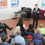 Mr Davies MP inagurating the events