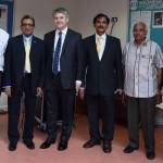 Shahid Kaleem, Prof Gupta, MP Mr Davies, Prof Mohanty, Ravin Shah & Sarifa Kabir