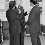 Professor Gupta with Mr Davies & Professor Mohanty