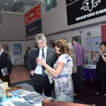 Mr Davies MP visited several stalls