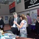 Mr Davies MP visited several stalls