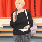 Dame Bailey opening the event