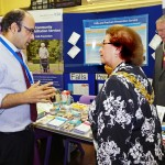 Mayor of South Ribble,  Coun. Mary Green with Dr. Gaurav Agrawal from Lancashire Teaching Hospitals Falls and Fracture Prevention Service