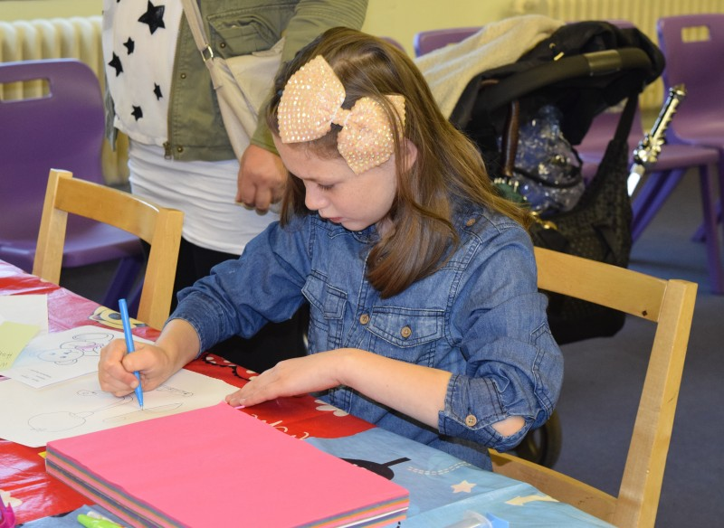 Children enjoyed painting competition