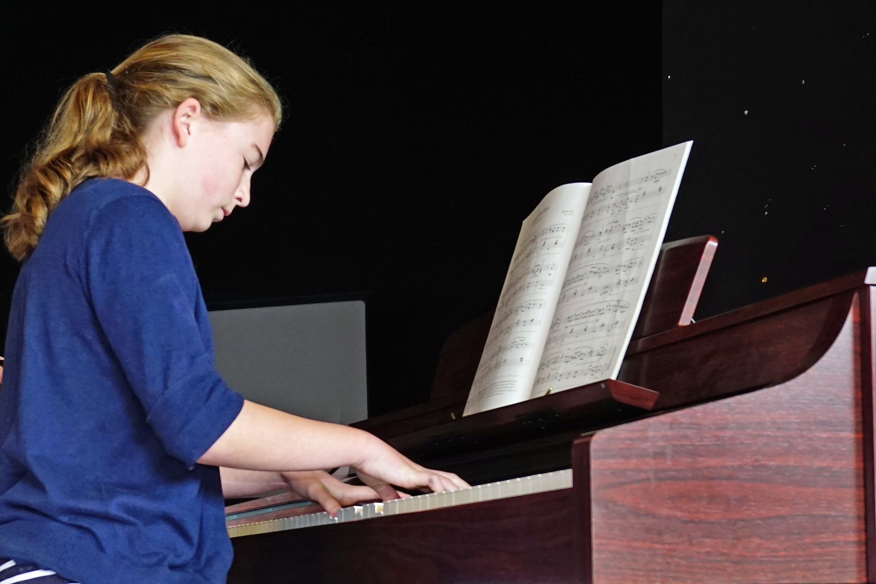 Georgia Rodwell - Lytham St Annes College - Entertaining   Visitors