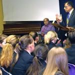 Prof Romesh Gupta OBE praises students