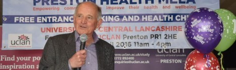 Sir Peter praises Preston Health Mela
