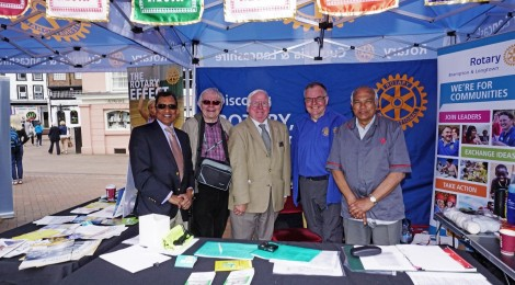 Rotary and NFHW host First Carlisle Health Mela