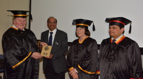Khushalbhai Recognised at International Conference