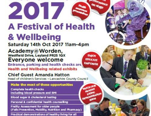 Free health checks at the Leyland Health Mela