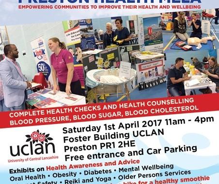 Preston Health Mela is on 1 April 2017