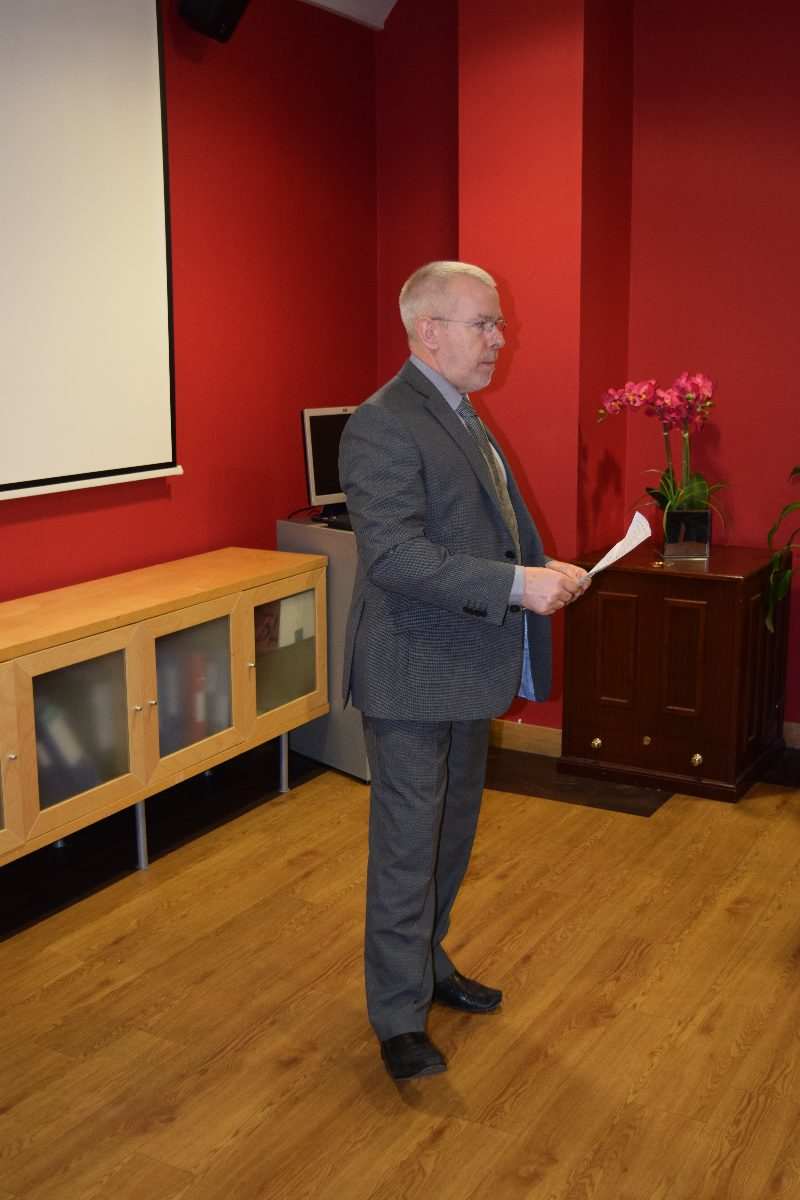 Dr Nigel Harrison, Executive Dean, College of Health and Wellbeing, UCLan