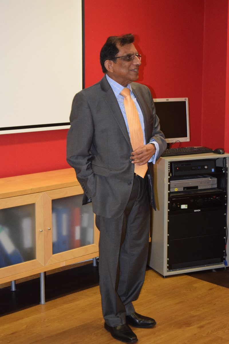 Professor Romesh Gupta, OBE, Chairman NFHW