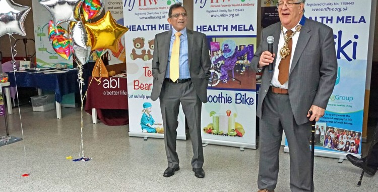 NFHW and UCLAN host 16th Preston Health Mela