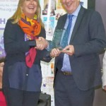 Karen Partinghton receives NFHW Fellowship Award from Lindsay Hoyle MP_R