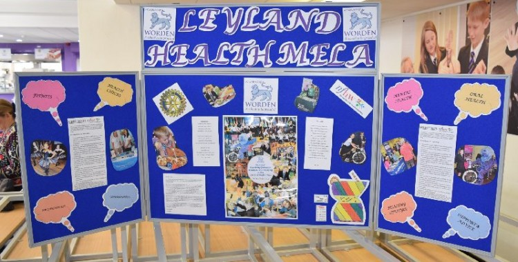 LEYLAND AIMS FOR HEALTHY LIVING