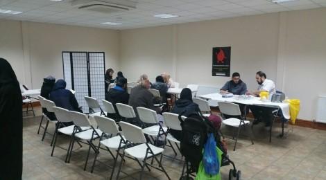 Raza Masjid Health Event