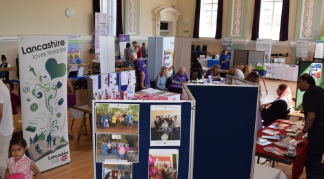 Health Mela Rolls on in Accrington