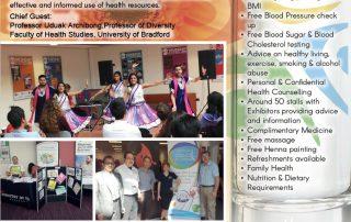 Bradford Health Mela poster