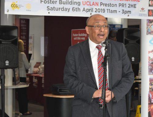 Sir Mark praises Preston Health Mela