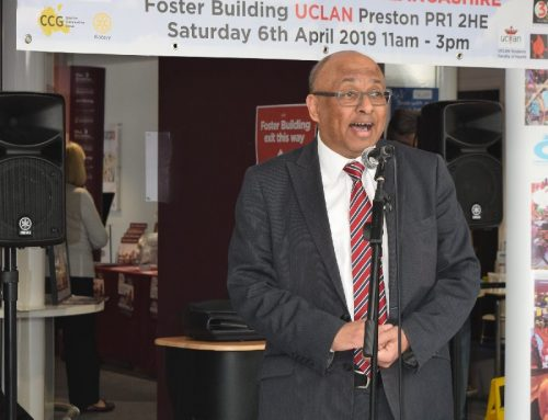 Sir Mark praises Preston Health Mela