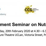 Public Engagement Seminar on Nutrition