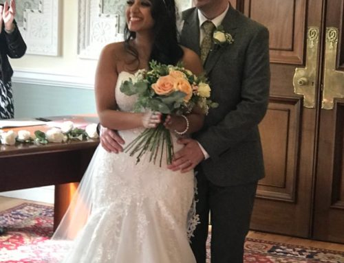 Anjali And James Tie the Wedding Knot