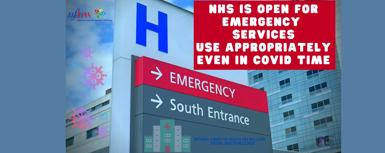 Hospitals are still open for emergency services