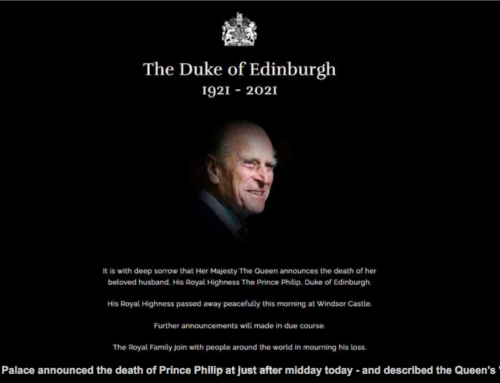 NFHW MOURNS DEATH OF PRINCE PHILIP